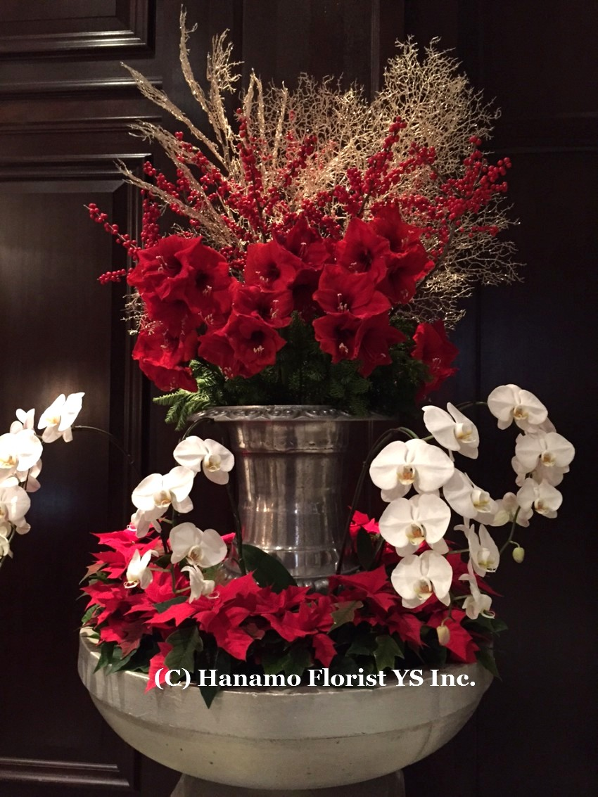 CMAS20154 Christmas arrangement display