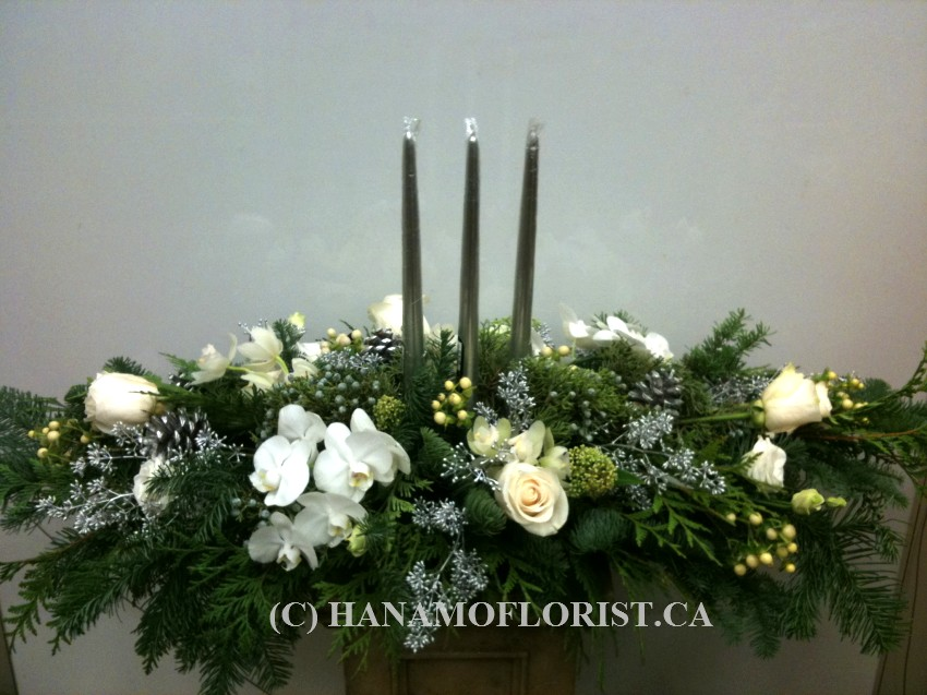 CMAS901 Christmas Table Centre Arrangement Premium XL