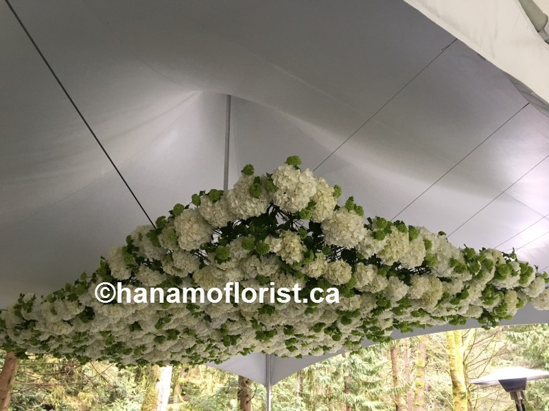 EVEN422 Tent Ceiling Flower Decor