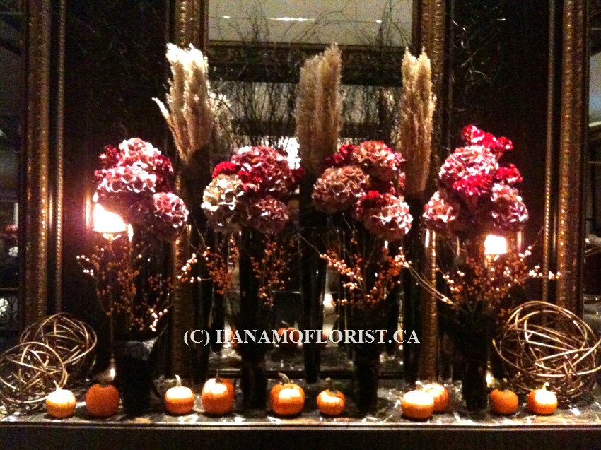 LOBB1025 Halloween Fresh Lobby Arrangement