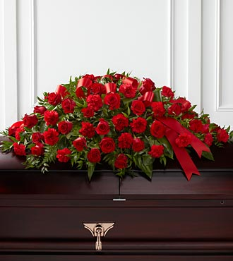 S12-4465D FTD� Dearly Departed� Casket Spray