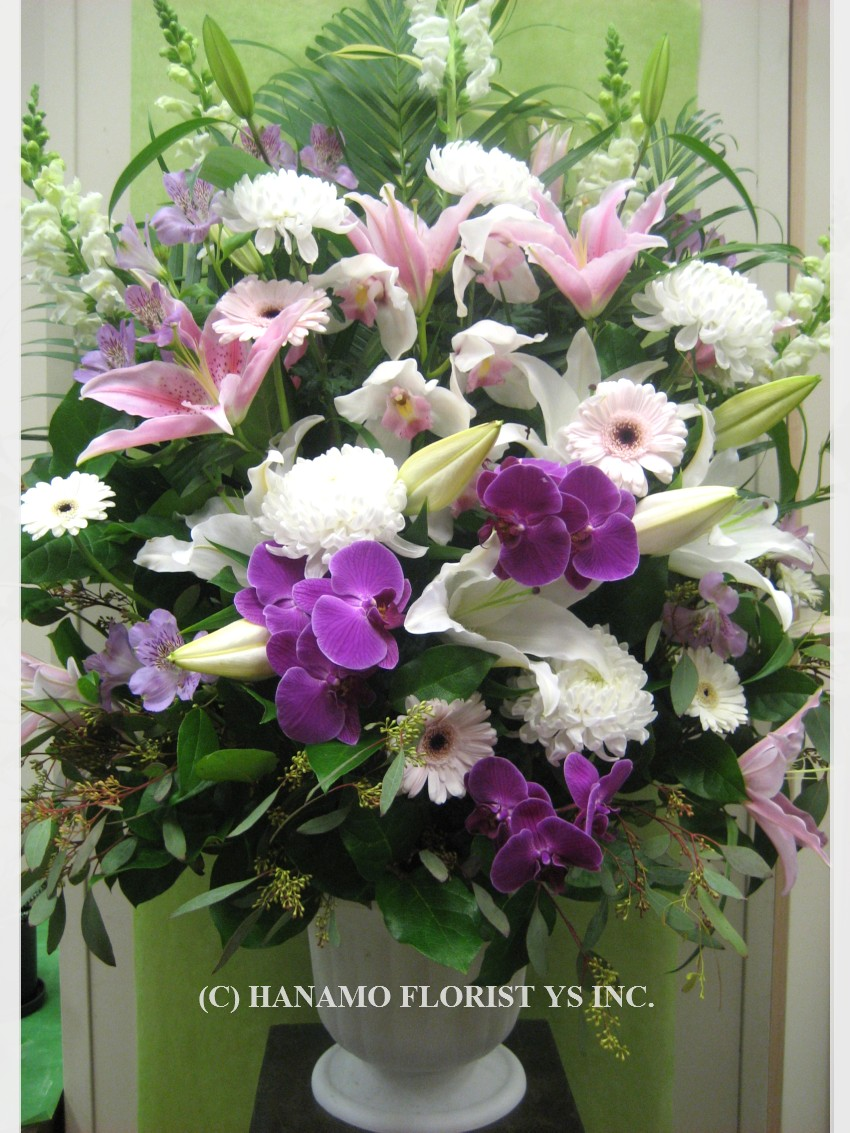 SYMP328 Memorial Flower Arrangement Large