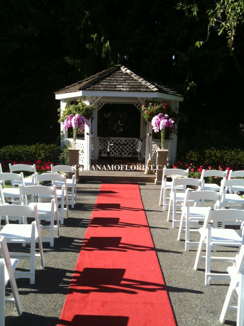 WEDI912 Ceremony at the Gazebo of UBC Golf Course