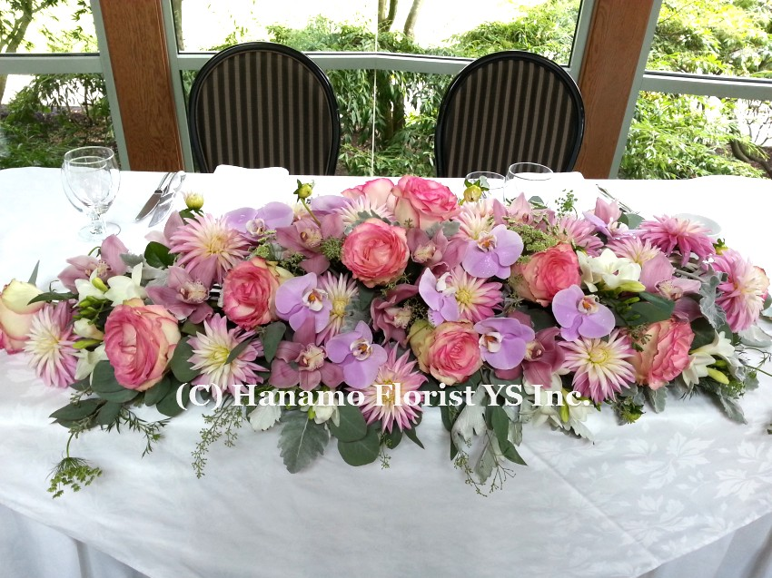 WEDI820 Head Table Flowers