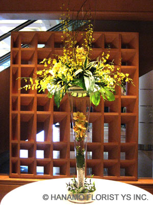 BUSI003 Oncidium in Extra Large Vase
