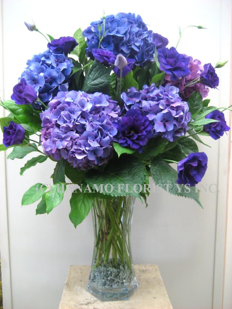 Vase Arrangement Hanamo Florist Online Store Vancouver